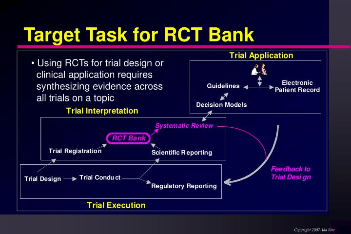 Target Task for RCT Bank