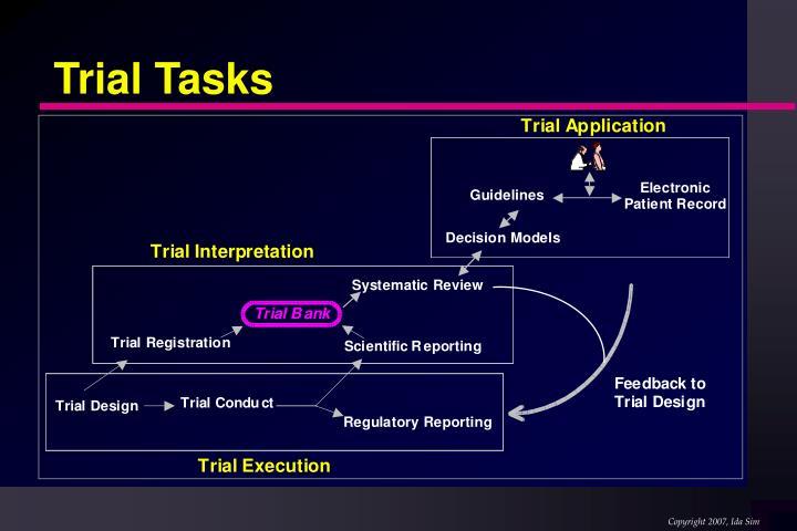 Trial Tasks