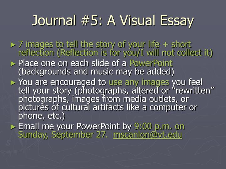 visual media analysis essay