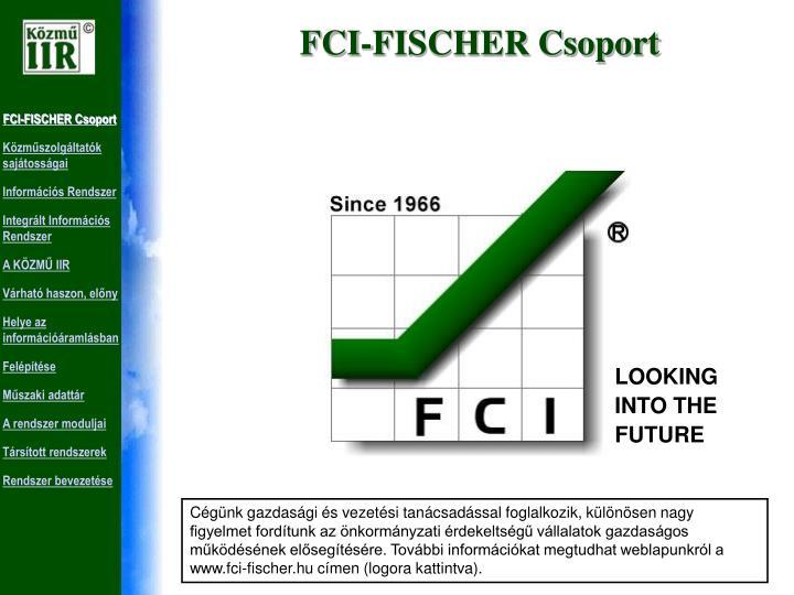 FCI-FISCHER Csoport