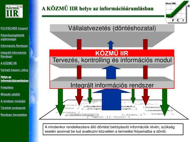 Vállalatvezetés (döntéshozatal)