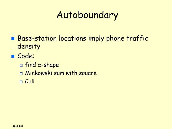 Autoboundary
