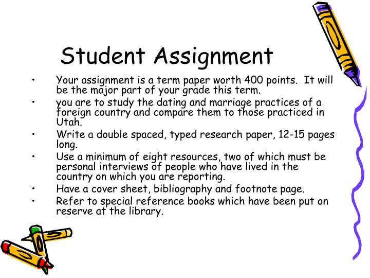 term paper tasks If you did not do well in the last 8 to 10 long-term essay writing tasks (in case of courseworks or term papers) purchasing essay papers from essay hawk.