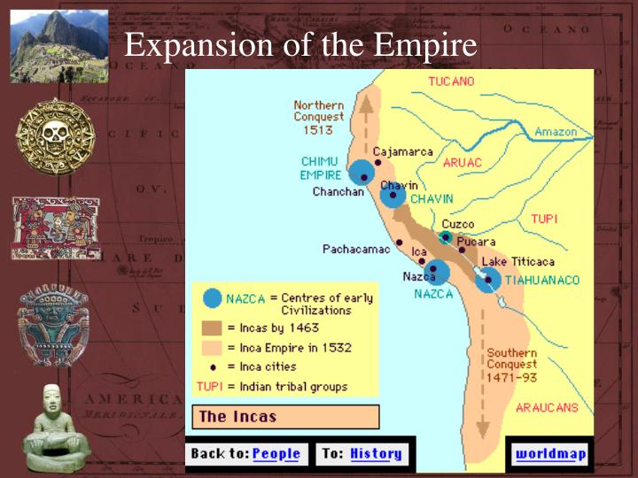 Expansion of the Empire