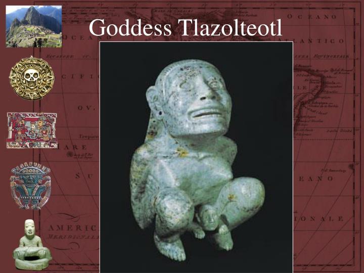 Goddess Tlazolteotl