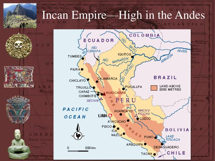 Incan Empire—High in the Andes