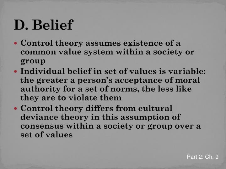 D. Belief