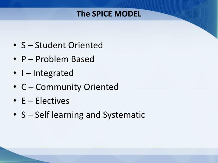 The SPICE MODEL