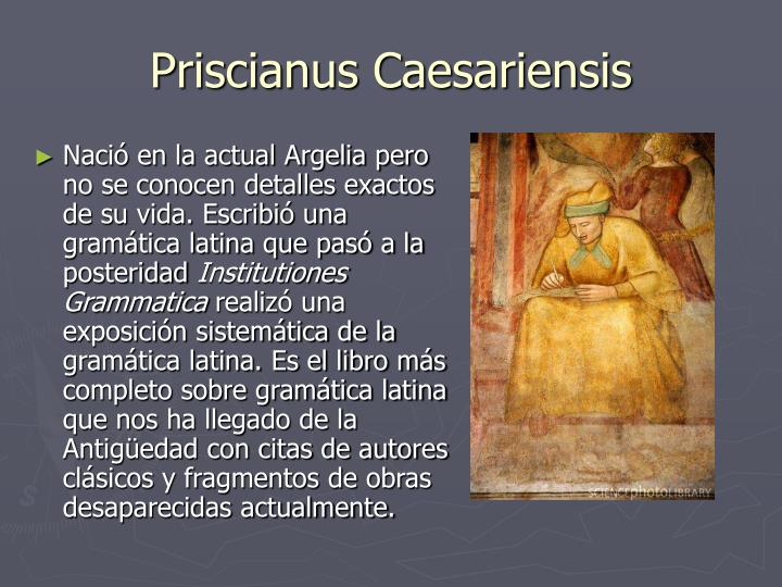 Priscianus Caesariensis