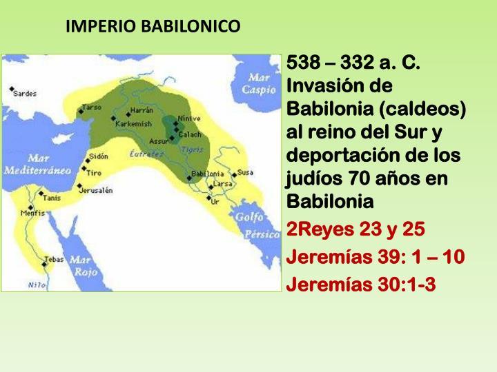 IMPERIO BABILONICO