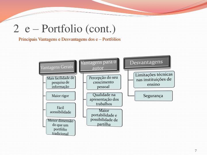 2  e – Portfolio (