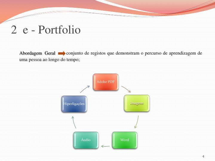 2  e - Portfolio