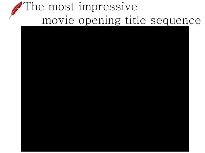 The most impressive