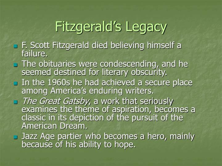 Fitzgerald's Legacy