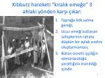kibbutz hareketi kiral k eme e 3 ahlaki y nden kar kar