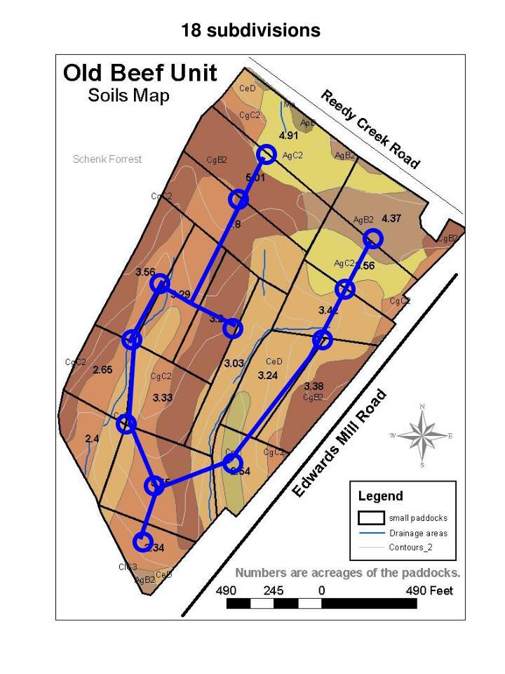 18 subdivisions