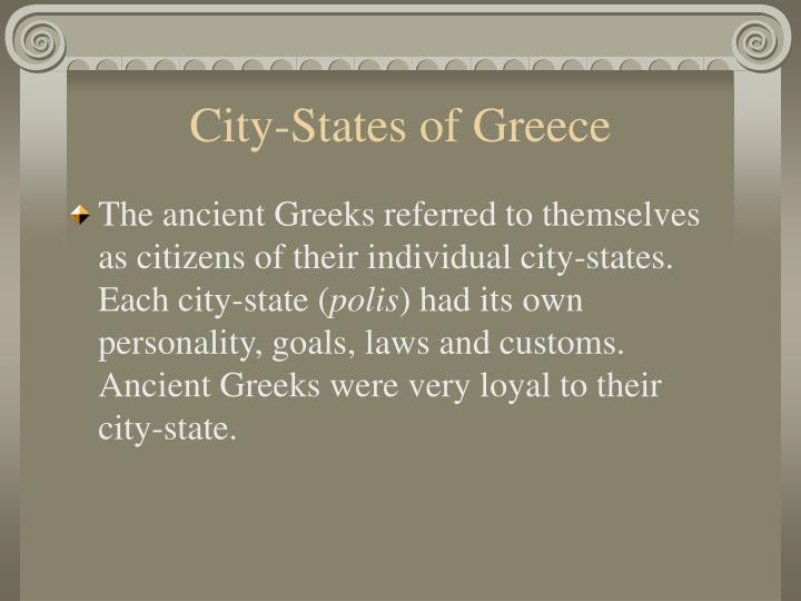 City-States of Greece