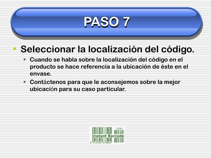 PASO 7