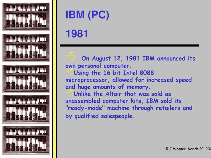 IBM (PC)