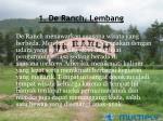 1 de ranch lembang
