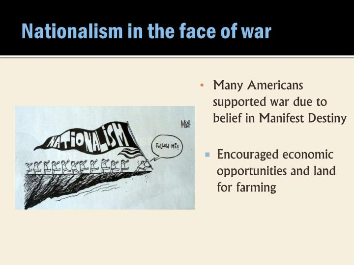 Nationalism in the face of war