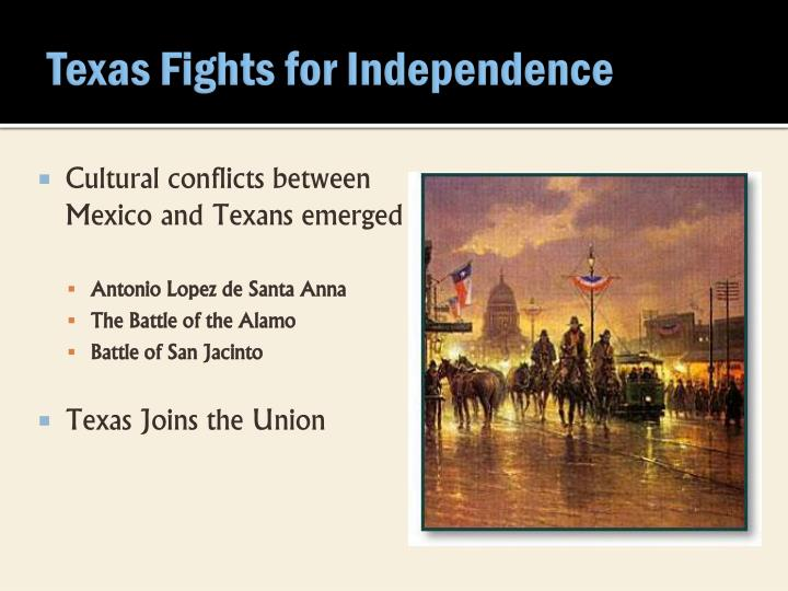 Texas Fights for Independence