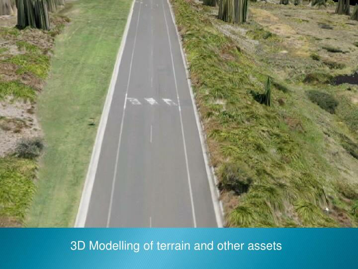 3D Modelling of terrain and other assets