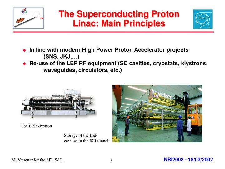 The Superconducting Proton Linac: Main Principles
