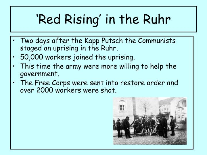 'Red Rising' in the Ruhr