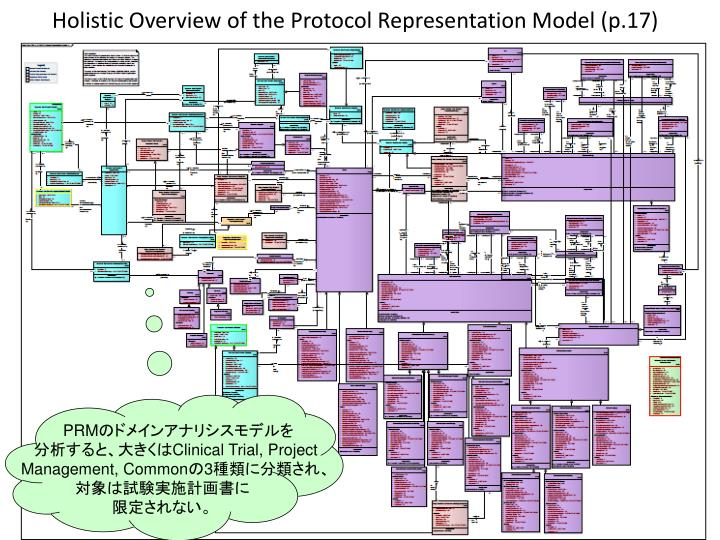 Holistic Overview of the Protocol Representation Model (p.17)