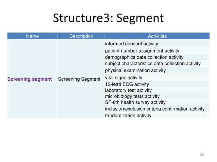 Structure3: Segment