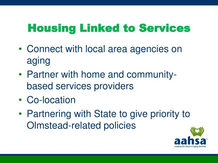 Housing Linked to Services
