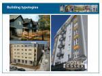 building typologies