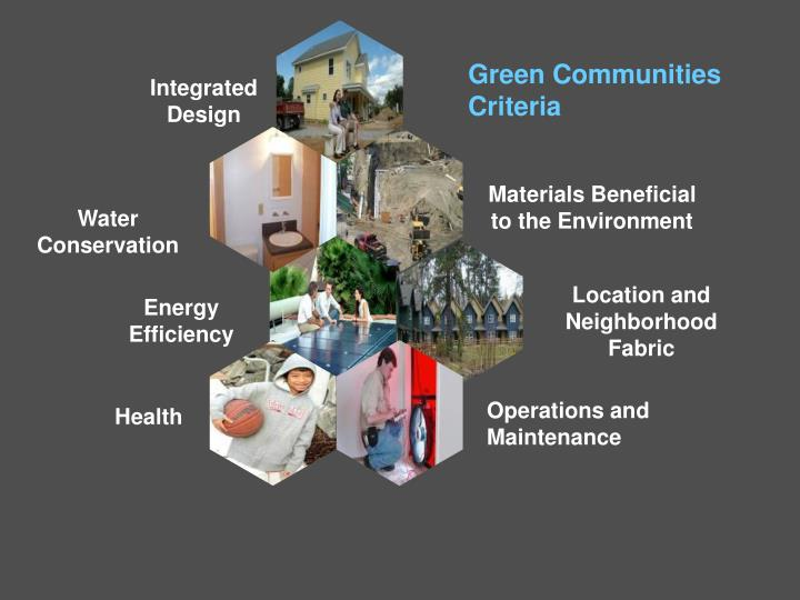 Green Communities Criteria