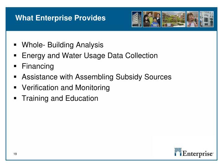 What Enterprise Provides