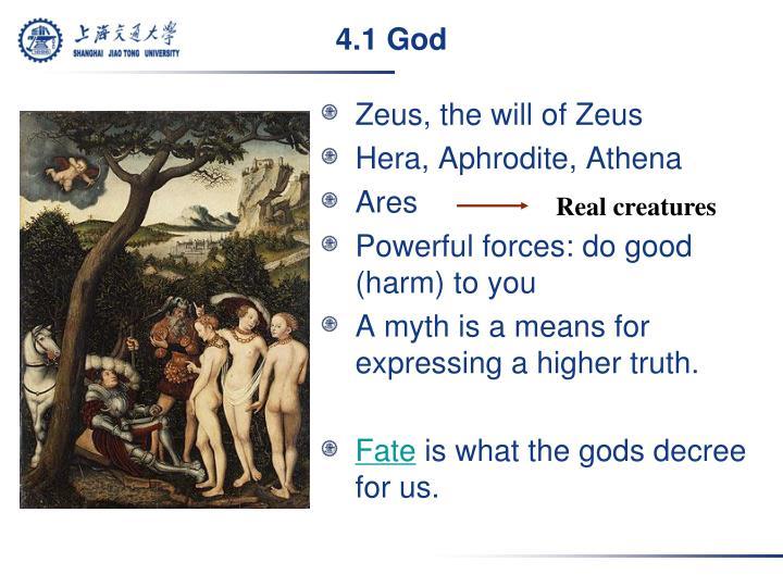 4.1 God