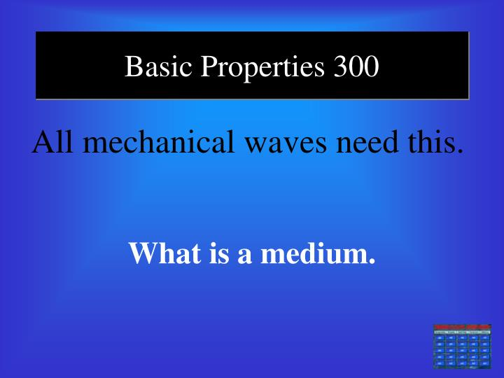 Basic Properties 300