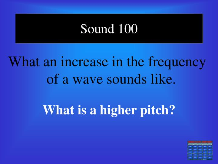 Sound 100