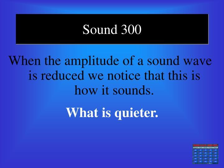 Sound 300