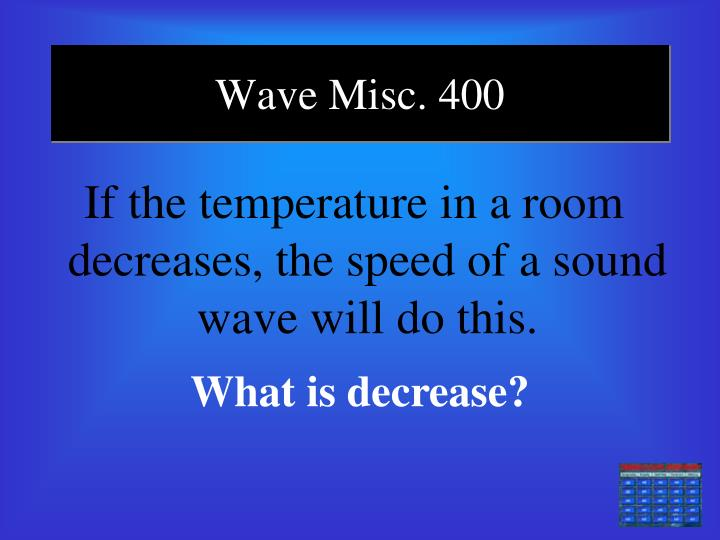 Wave Misc. 400