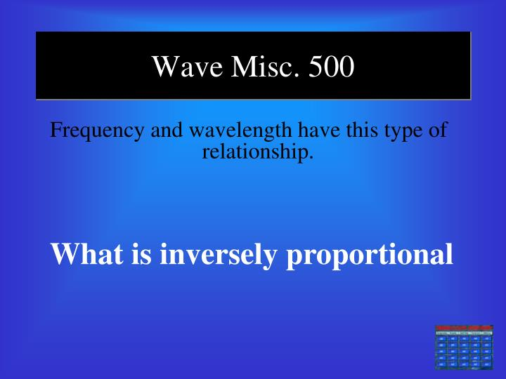 Wave Misc. 500