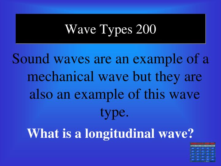 Wave Types 200