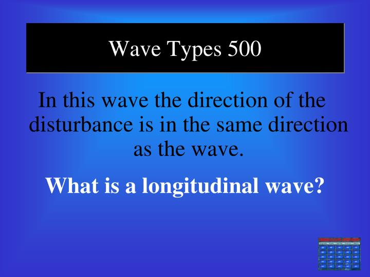 Wave Types 500