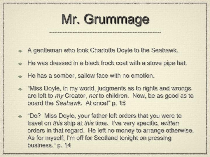 Mr. Grummage