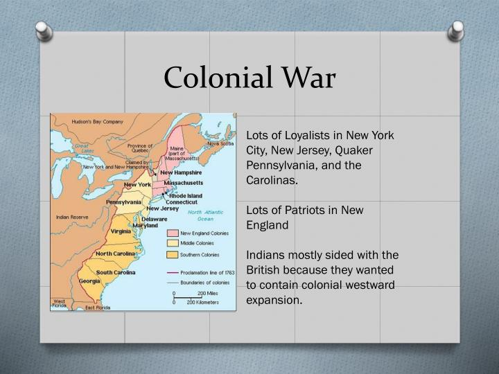 Colonial War