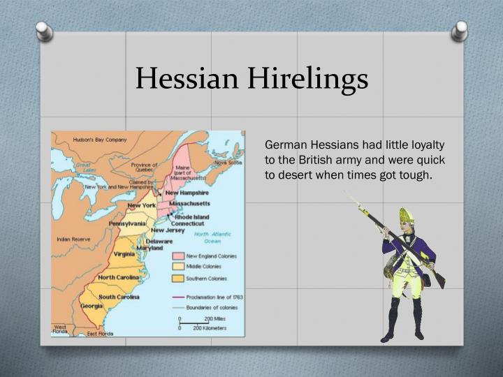 Hessian Hirelings