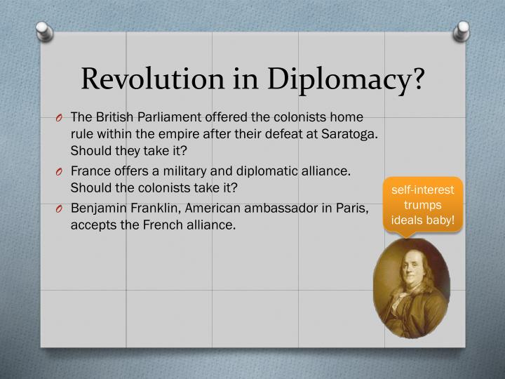 Revolution in Diplomacy?