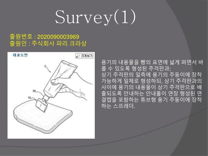Survey(1)