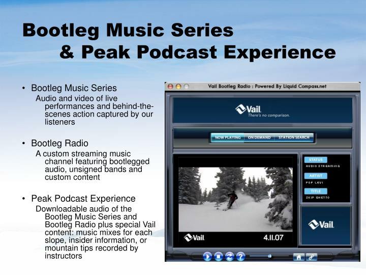 Bootleg Music Series