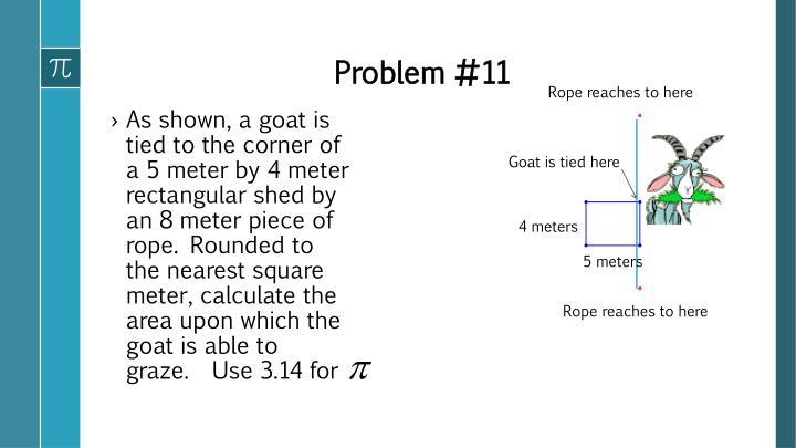 Problem #11